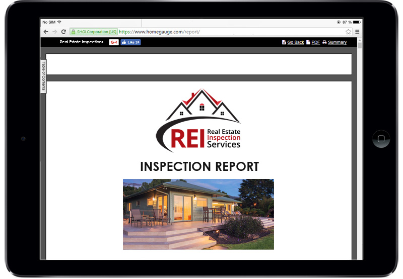 San Diego Real Estate Inspections Home Gauge Digital Reports